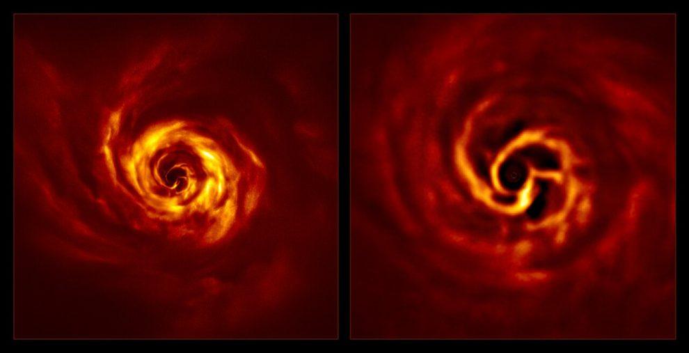 AB Aurigae SPHERE foto pianeta in formazione ESO