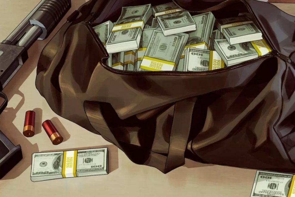 Borsa di soldi in GTA V