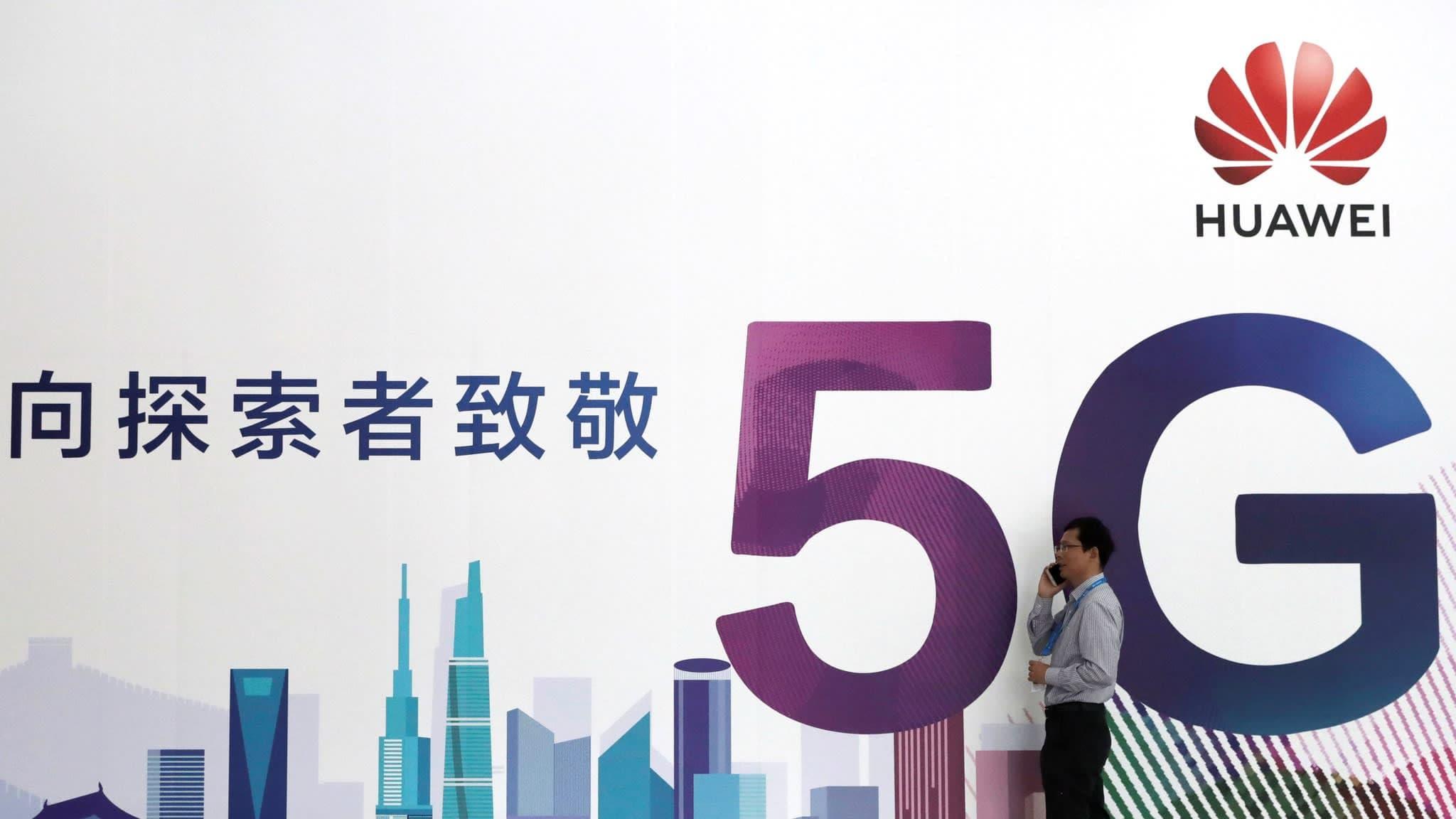 5G Huawei UK