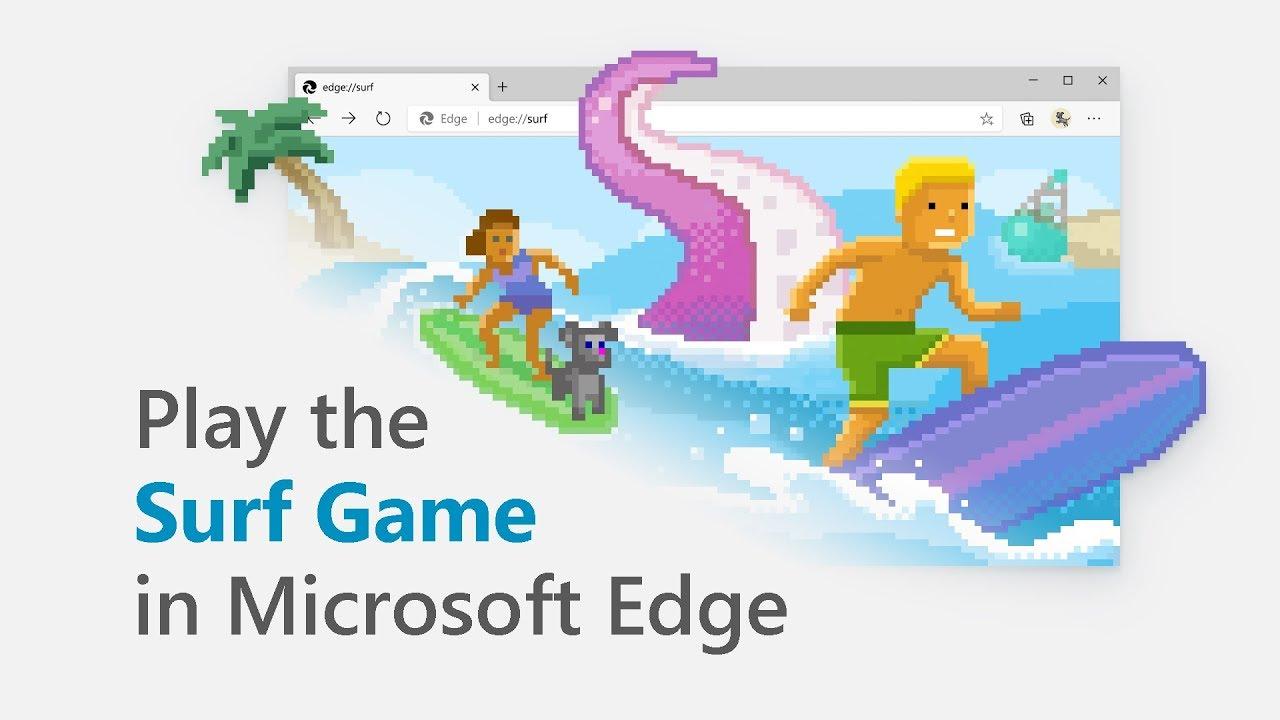Microsoft Edge Surf Minigioco