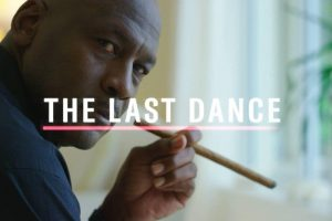 The last dance logo