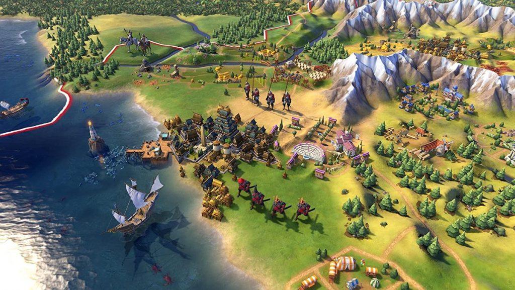 Mappa Civilization VI