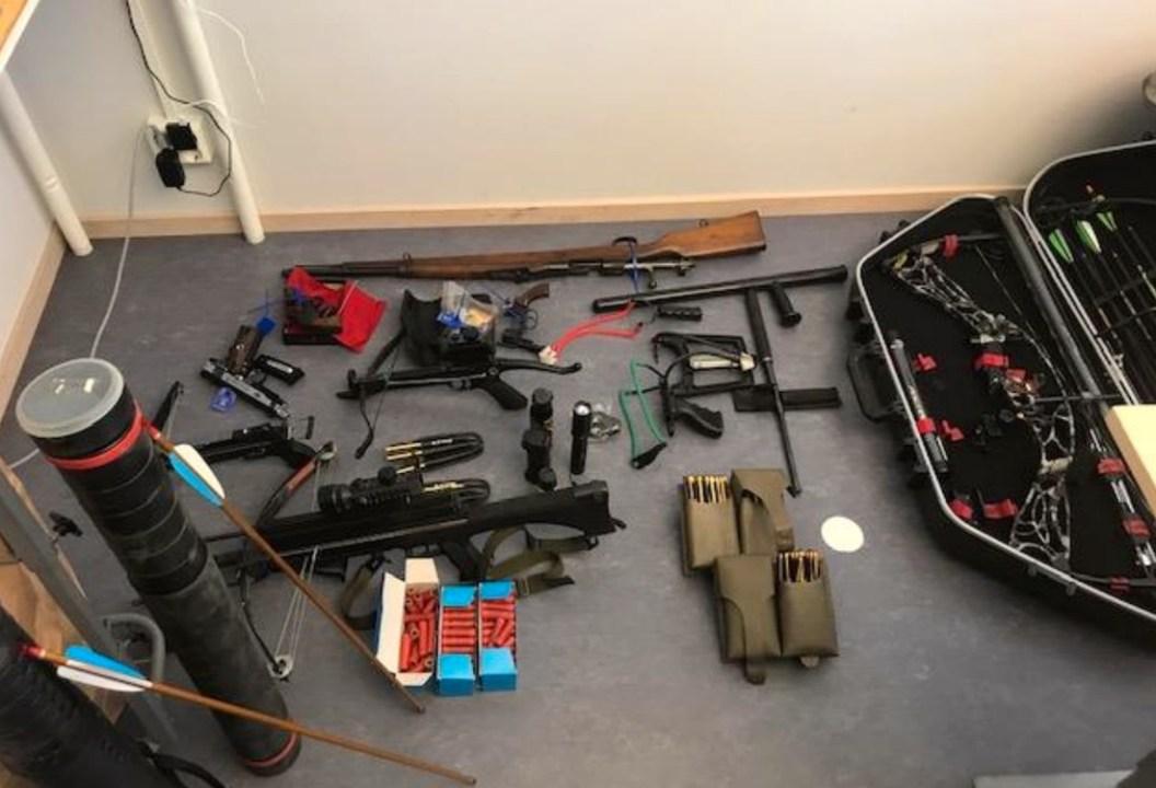 armi cacciatori zombie