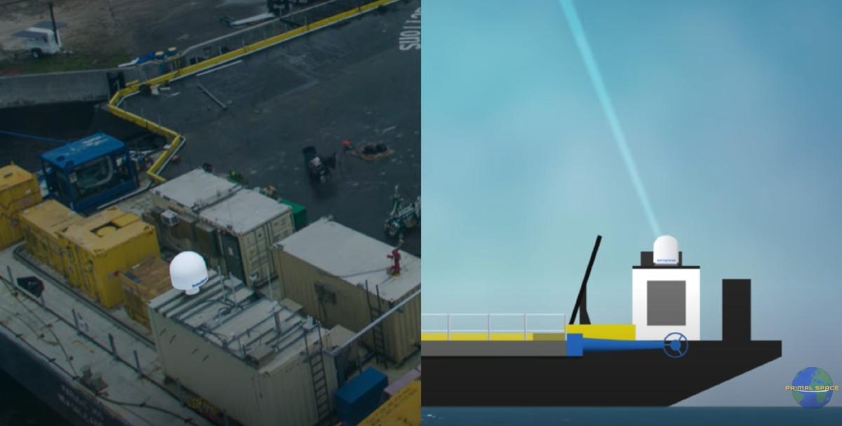 antenna piattaforma drone