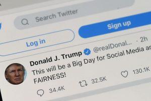 Donald Trump Social Media