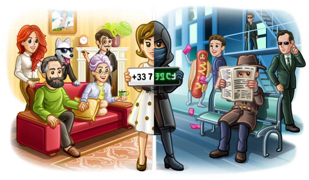 telegram privacy illustrazione