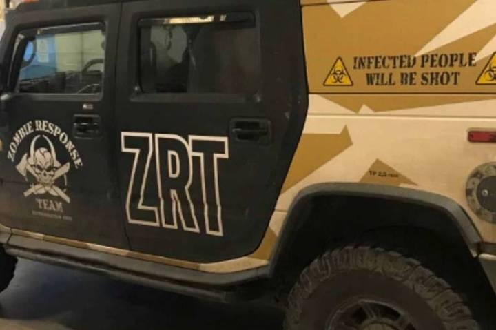 hummer cacciatori di zombie