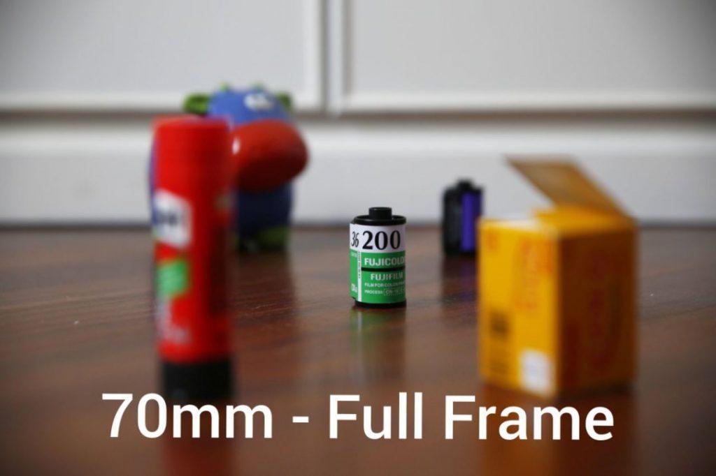 70mm full frame