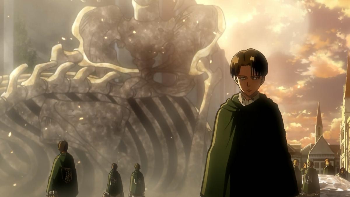 L'attacco dei giganti, Levi si allontana da Annie