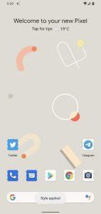 pixel Theme forma icona vessel