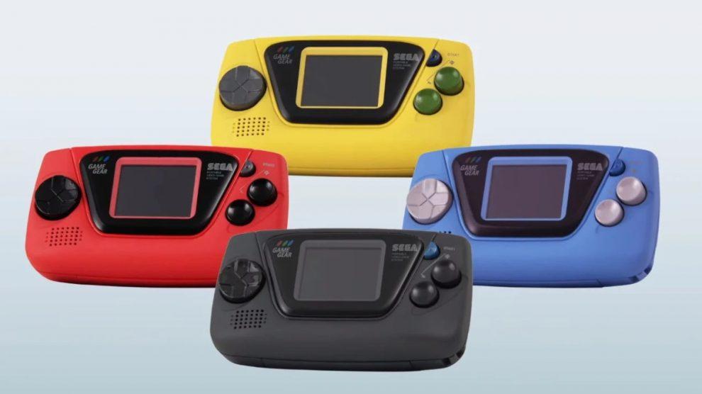 Quattro modelli di game gear micro