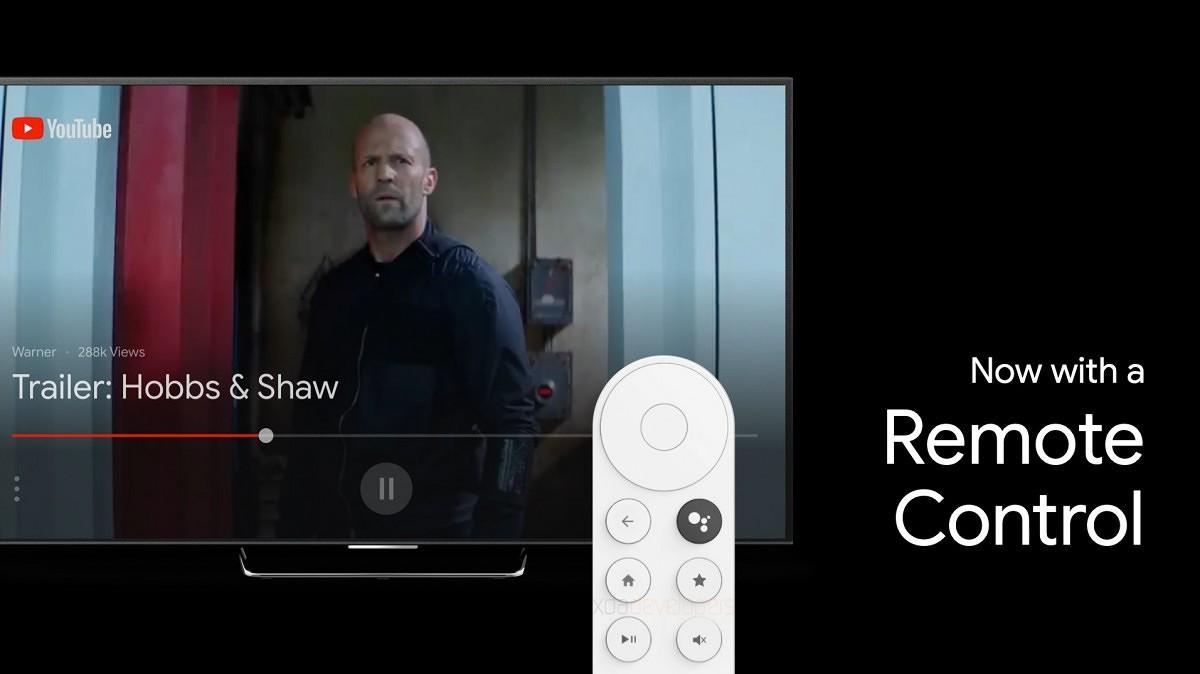 telecomando chromecast