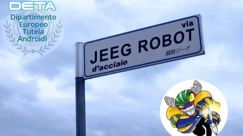 Narni, via Jeeg Robot