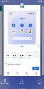 Copia immagini e testo dal multitasking android 11