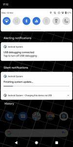 cronologia notifiche android 11 raggiungibile dalla tendina notifiche