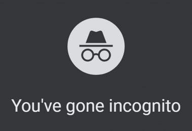 Google Chrome Modalità Incognito