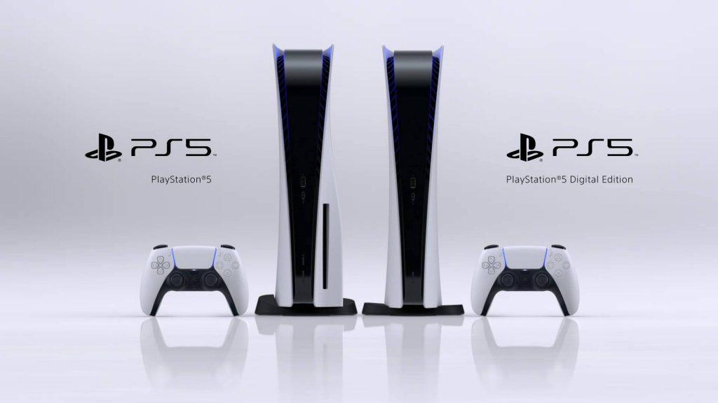 PS5 immagine design
