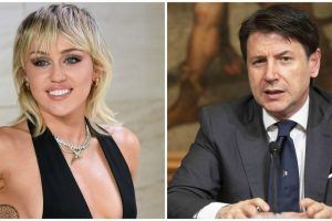miley cyrus twitter giuseppe conte