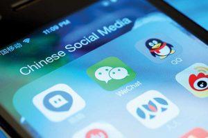 Applicazioni cinesi e social media
