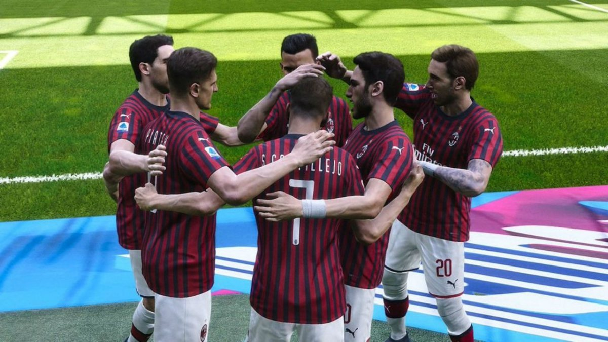 Milan Inter PES