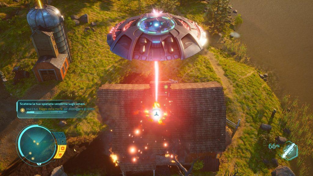 destroy all humans disco volante