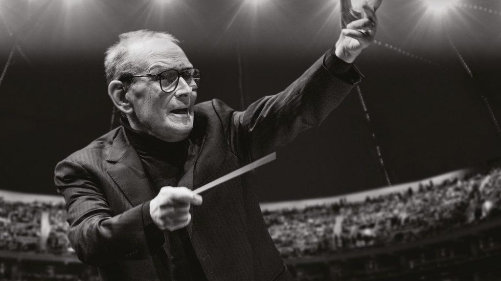 Ennio Morricone direttore d'orchestra e compositore