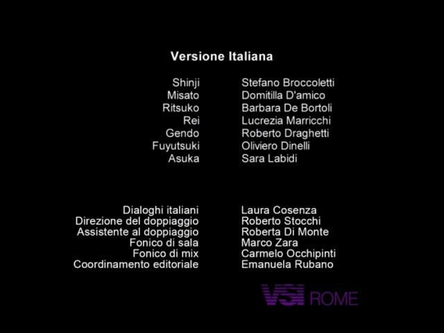 Cast e staff della versione italiana 2020 di Neon Genesis Evangelion per Netflix