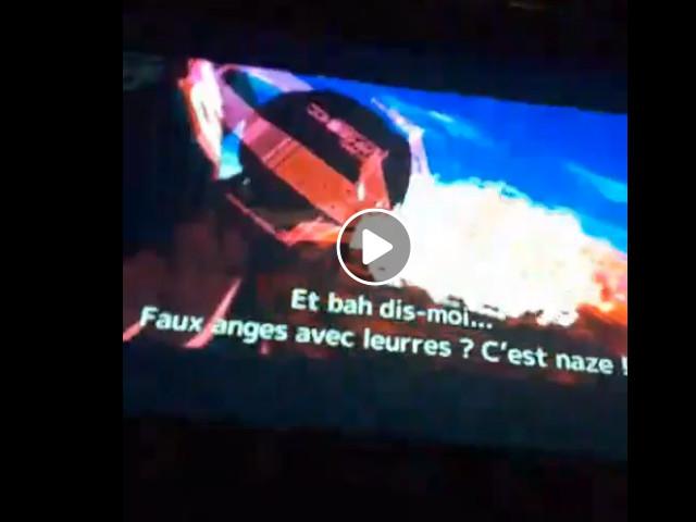 Al Japan Expo Paris 2019 durante l'anteprima di Evangelion: 3-0+1.0 AVANT 1 è apparso Angeli nei sottotitoli ufficiali in lingua francese