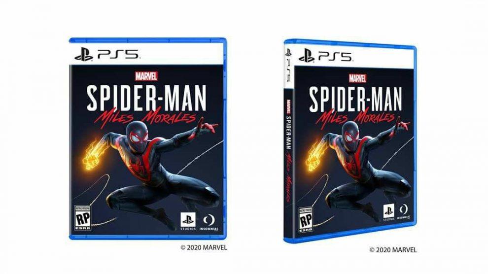 Tramite i propri canali social, PlayStation annuncia ufficialmente il design delle custodie dei videogiochi della prossima generazione di console con Spider-Man: Miles Morales.