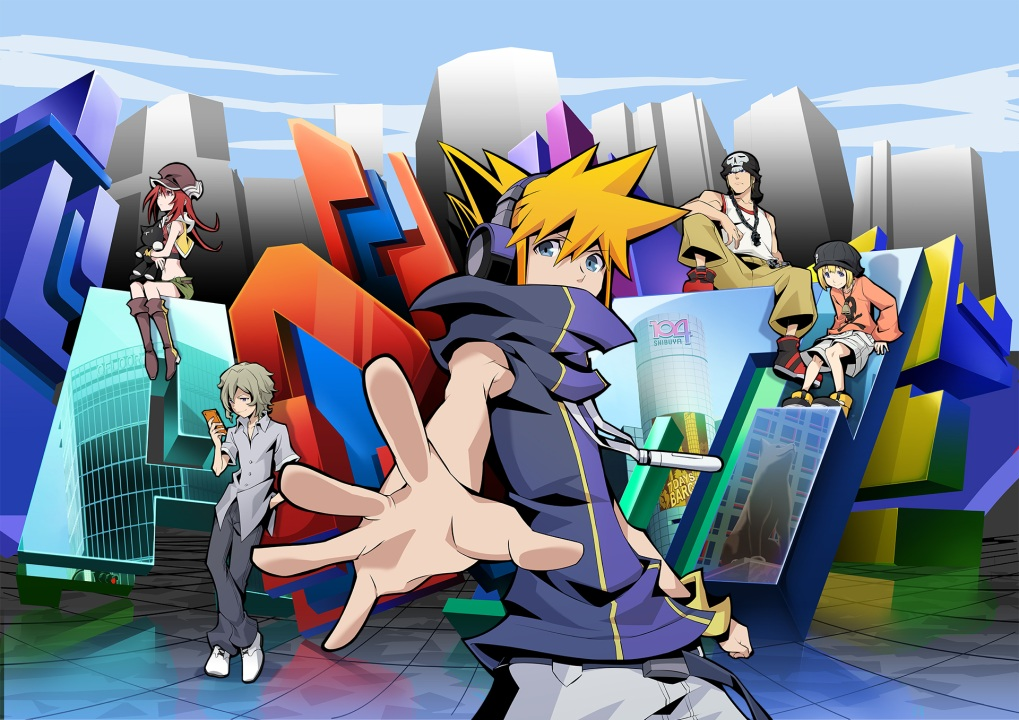 The world ends with you, key visual