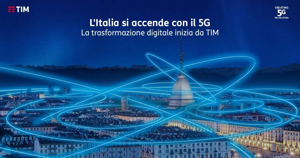 Tim esclude Huawei dalla corsa al 5G in Italia