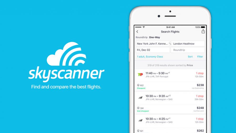 skyscanner applicazione