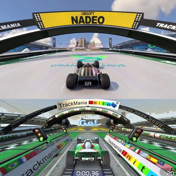 trackmania 2008 vs trackmania 2020
