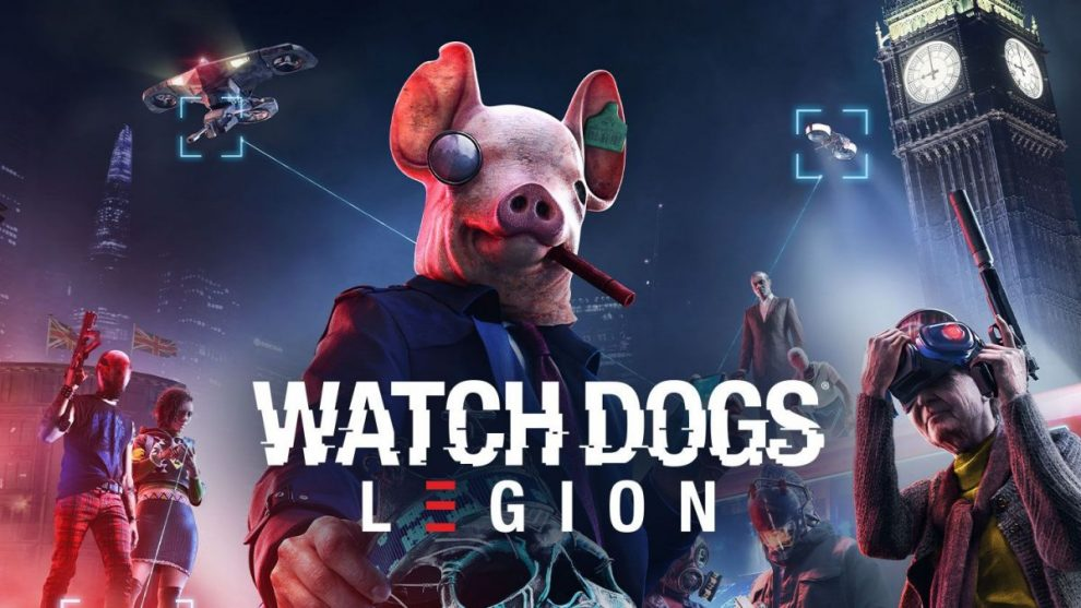 Copertina di Watch Dogs Legion