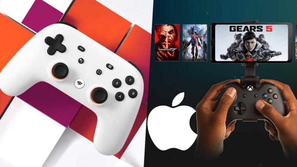 xCloud Stadia Apple App Store