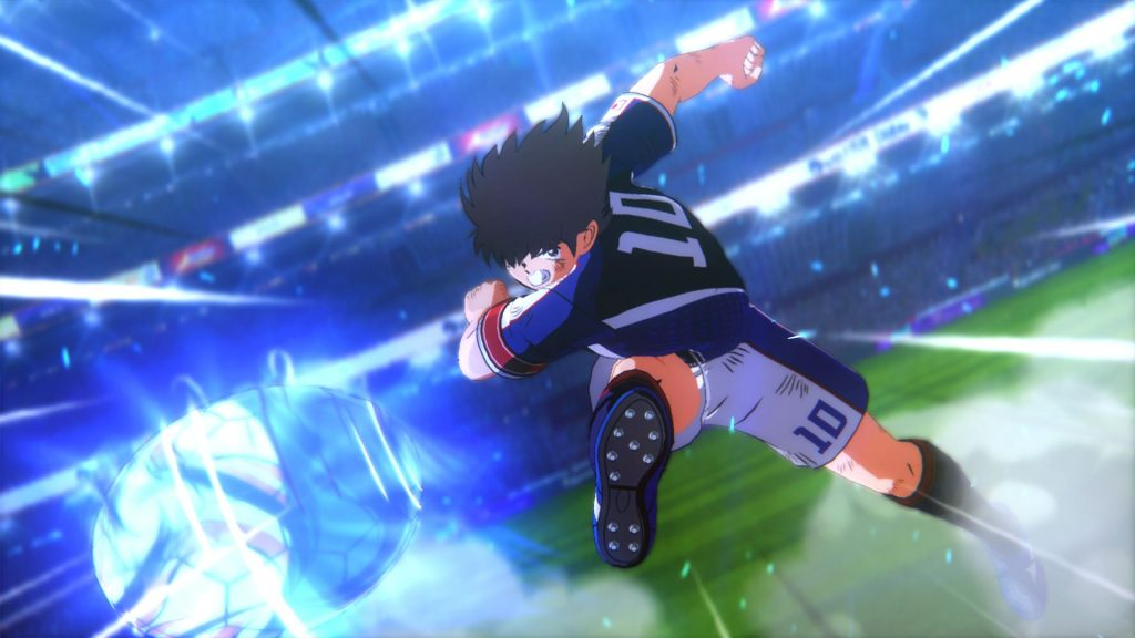 Captain Tsubasa kick