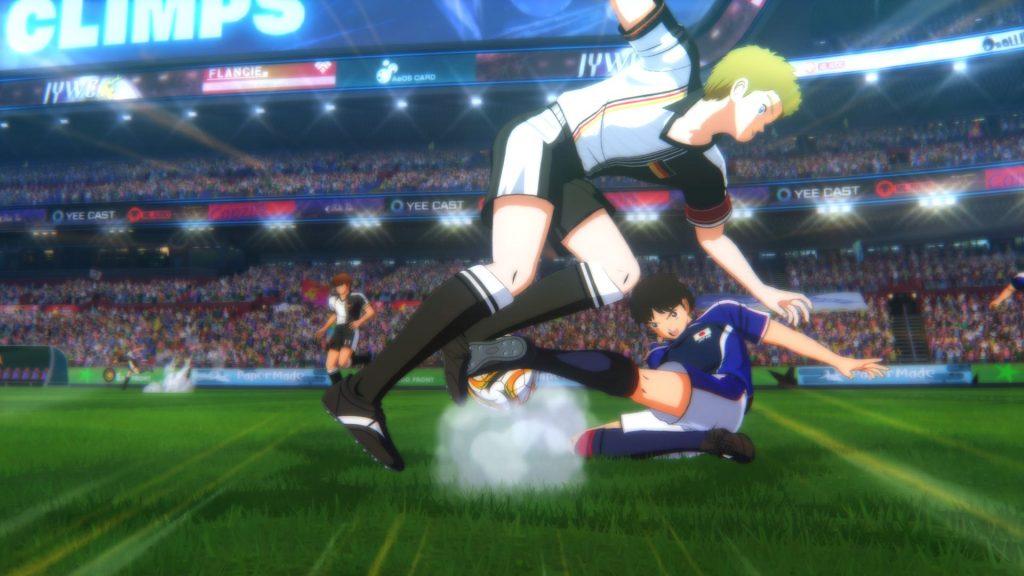 Captain Tsubasa tackle