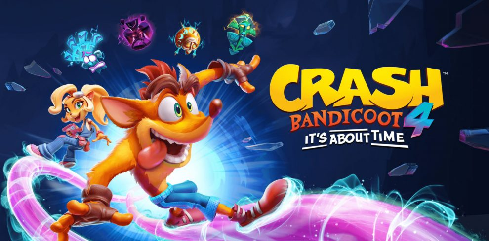 Crash Bandicoot 4 keyart