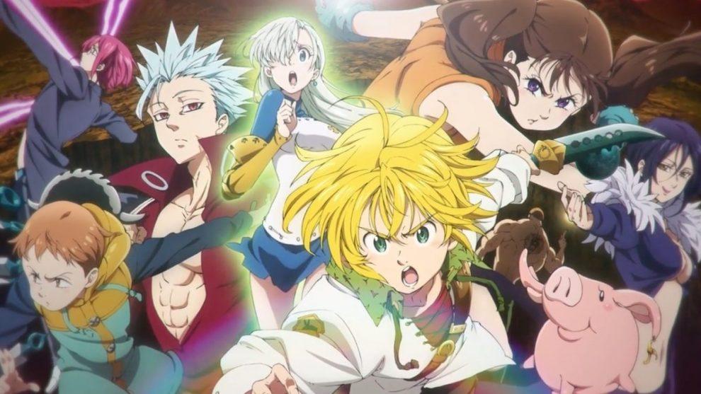 the seven deadly sins - nanatzu no taizai - The Seven Deadly Sins: Dragon's Judgement - Nanatsu no Taizai: Fundo no Shinpan