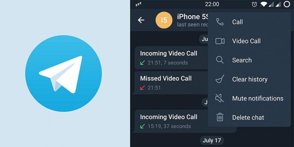 Telegram Beta Videochiamate