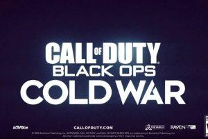 Possibile logo per call of duty black ops: Cold War