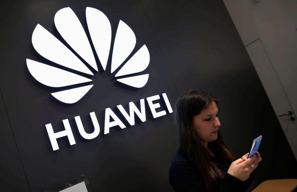 Huawei Logo smartphone
