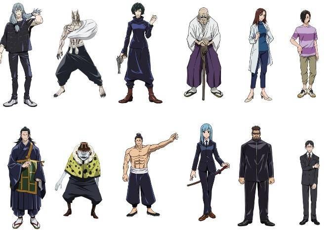 Jujutsu Kaisen - personaggi