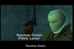 Revolver Ocelot di Metal Gear Solid