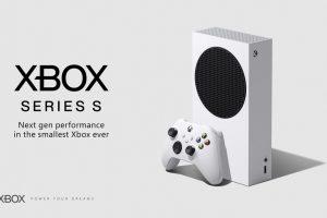 Rendering della console Xbox Series S