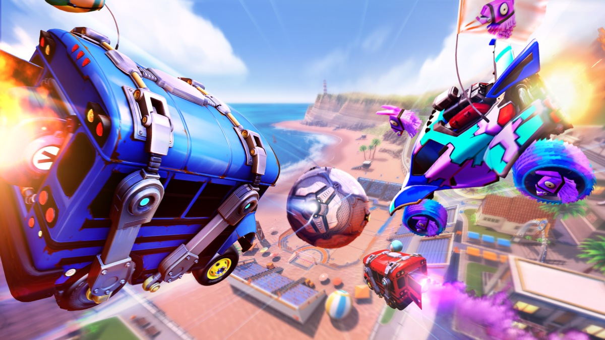 Rocket League Free-to-Play: Come avere le auto di Fortnite (LLama ...