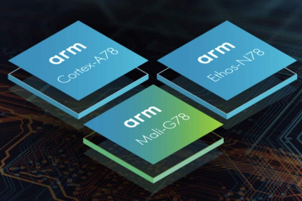 ARM CPU per smartphone