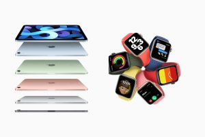Apple Time Flies iPad Air e Apple Watch Series 6