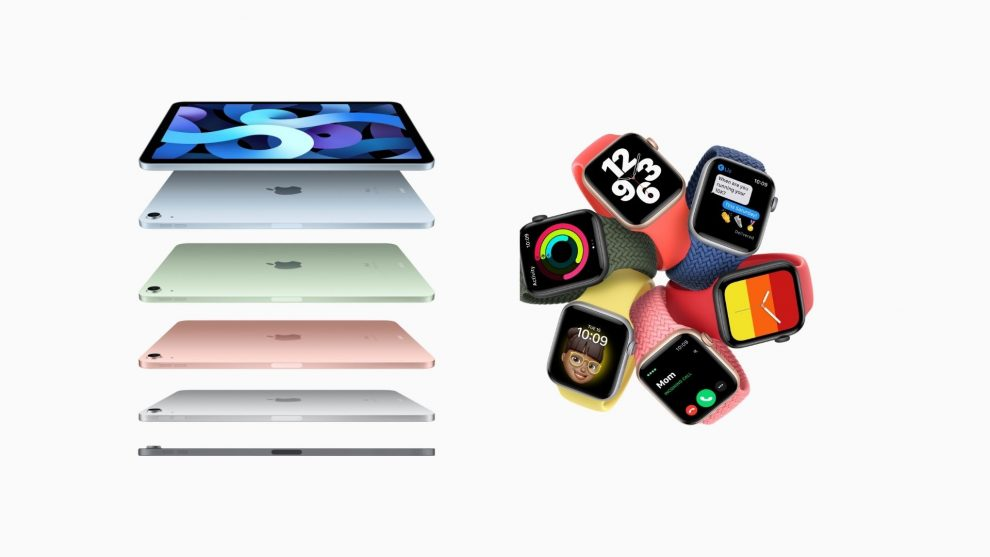 Apple Time Flies iPad Air e Apple Watch Series 6