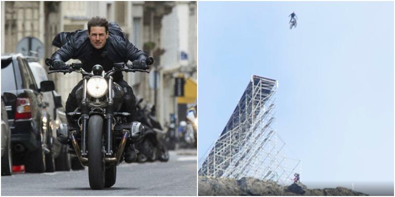 Mission Impossible 7 - Il pazzesco stunt di Tom Cruise